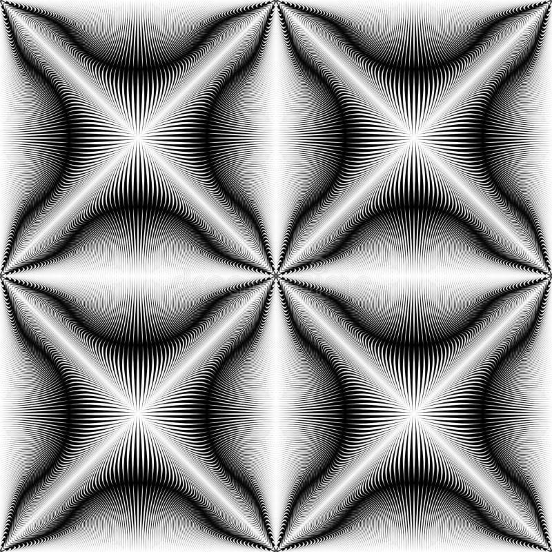 Nowożytny Święty geometrii tło wzoru abstrakcjonistyczny wektor ilustracji
