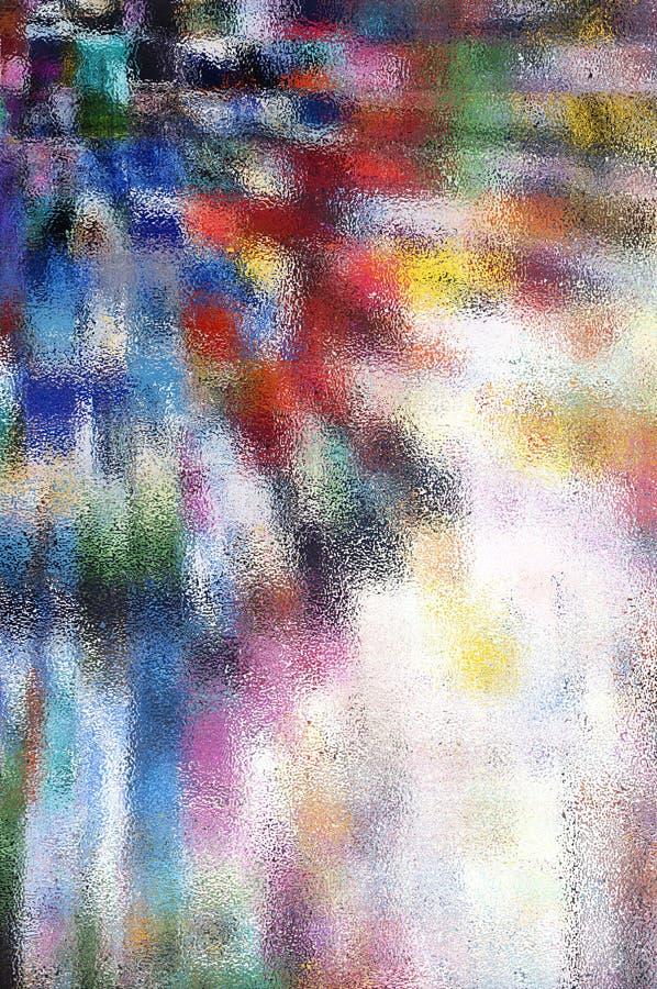Nowożytny abstrakcjonistyczny tło w różnych kolorach obrazy royalty free