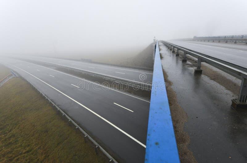 Nowożytny autostrady rozdroże obraz stock