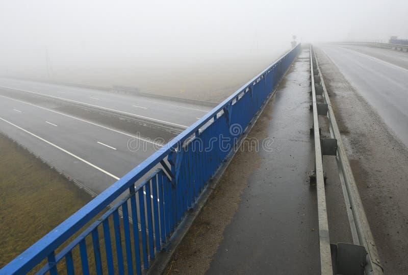 Nowożytny autostrady rozdroże obrazy royalty free