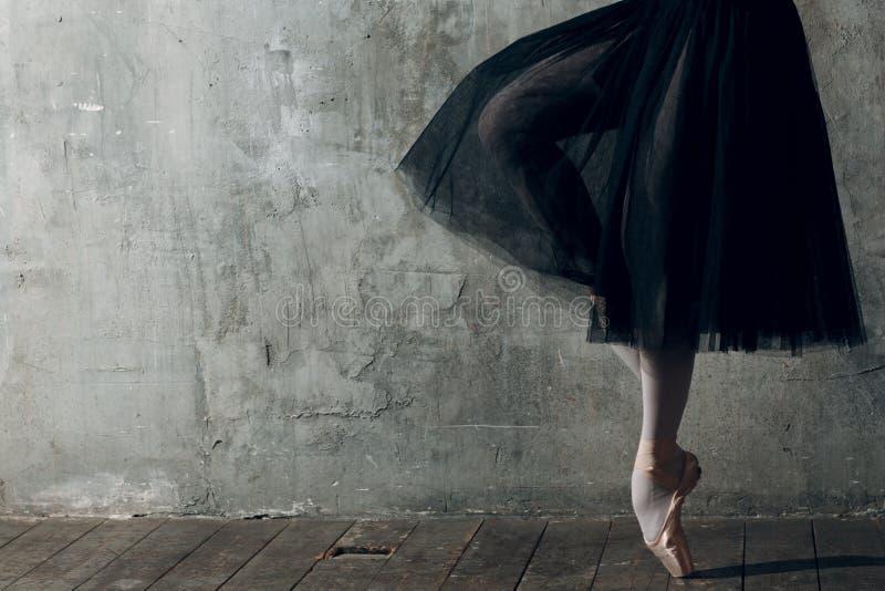 Nowożytny balet, wielki projekt dla żadny zamierza Baletniczego tancerza balerina Balansowy szkolenie obrazy royalty free