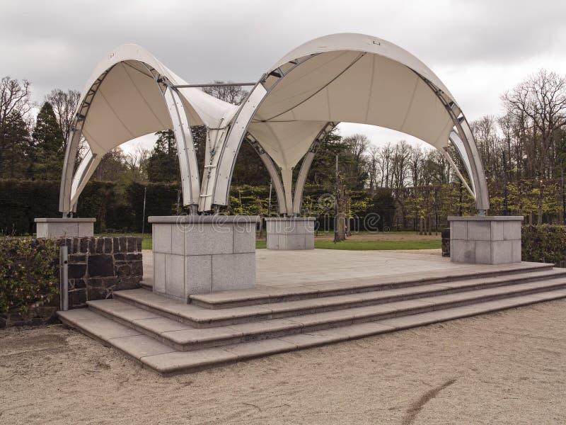 Nowożytny bandstand zdjęcia royalty free