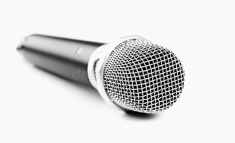 Nowożytny bezprzewodowy mikrofon zdjęcia royalty free