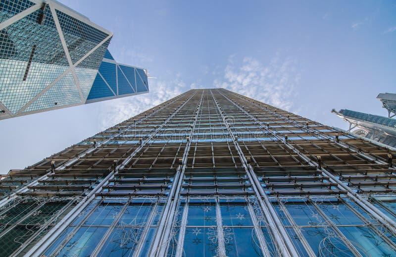 Nowożytny biznesowy budynku centrum w Hong kong fotografia royalty free
