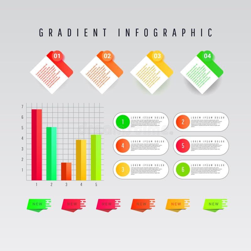 Nowożytny biznesowy szablon dla prezentacji, sieć projekta, sztandarów i plakatów, ilustracja wektor