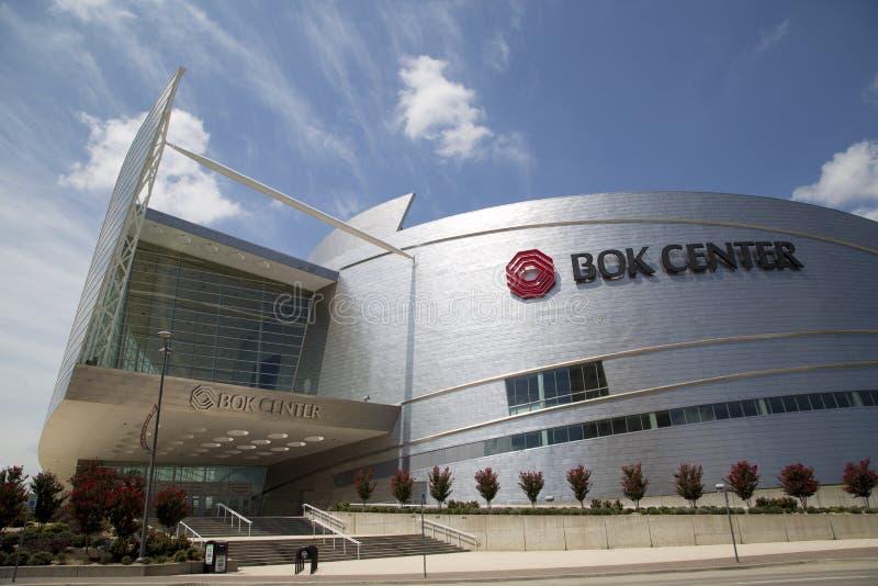 Nowożytny buduje Boka centrum w w centrum Tulsa Oklahoma usa obrazy royalty free