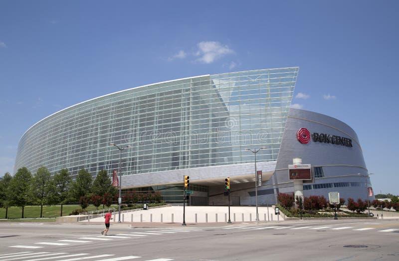 Nowożytny buduje Boka centrum w w centrum Tulsa Oklahoma usa zdjęcie stock