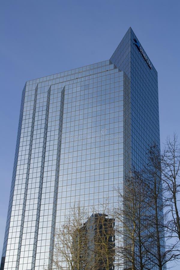 Nowożytny budynek biurowy obraz royalty free