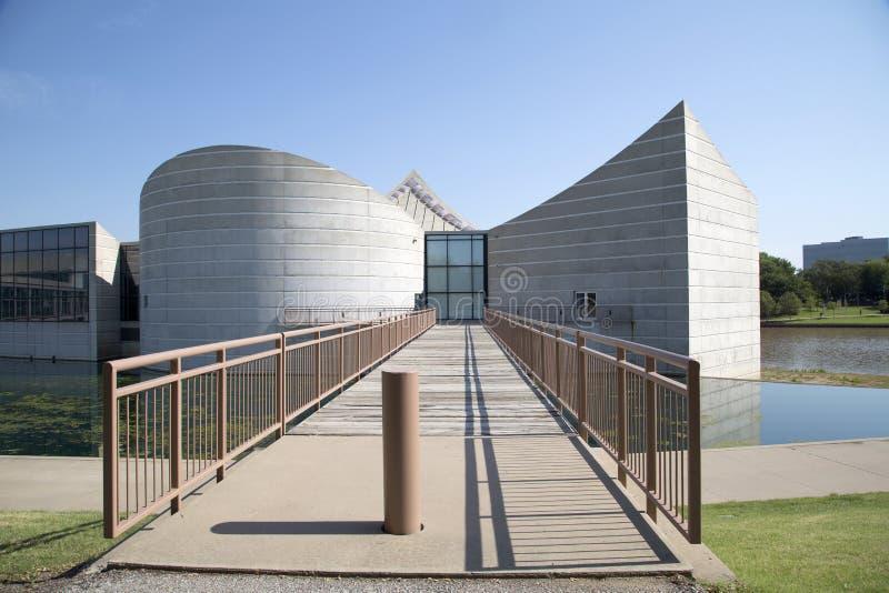 Nowożytny budynek eksploraci miejsce w Wichita Kansas usa fotografia stock