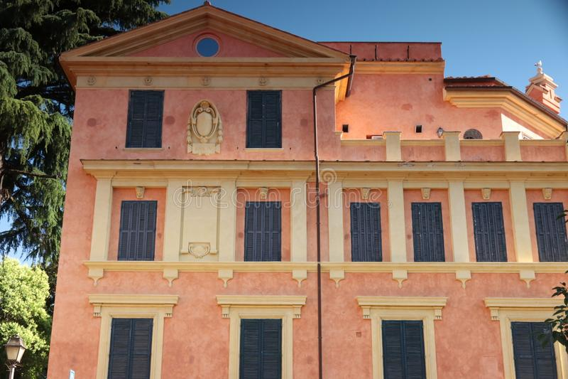 Nowożytny budynek na Aventine wzgórzu zdjęcie stock