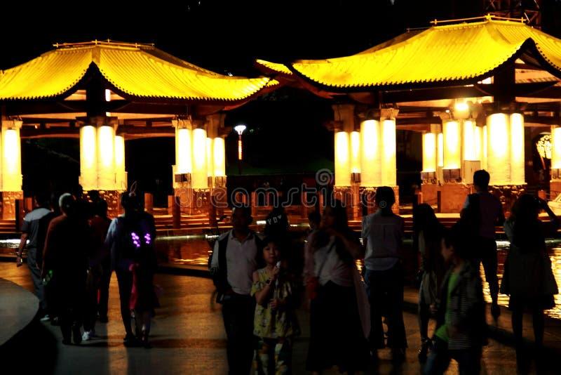 Nowożytny budynek w Qiandeng jeziorze Foshan fotografia stock