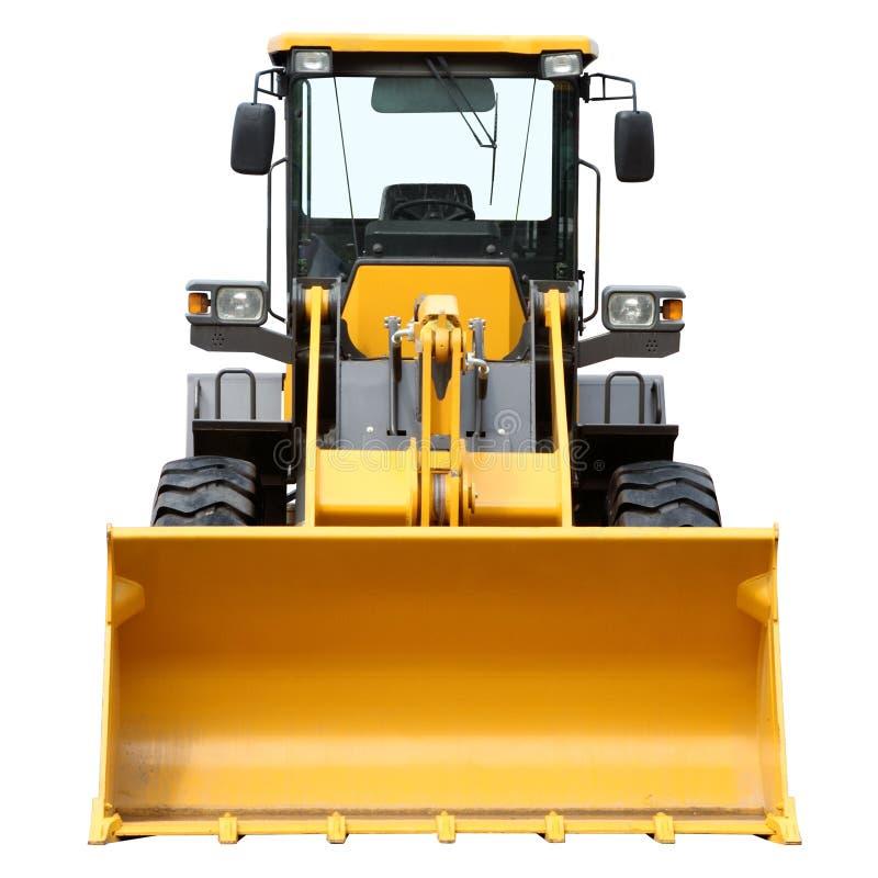 Nowożytny ciężki buldożer obraz royalty free