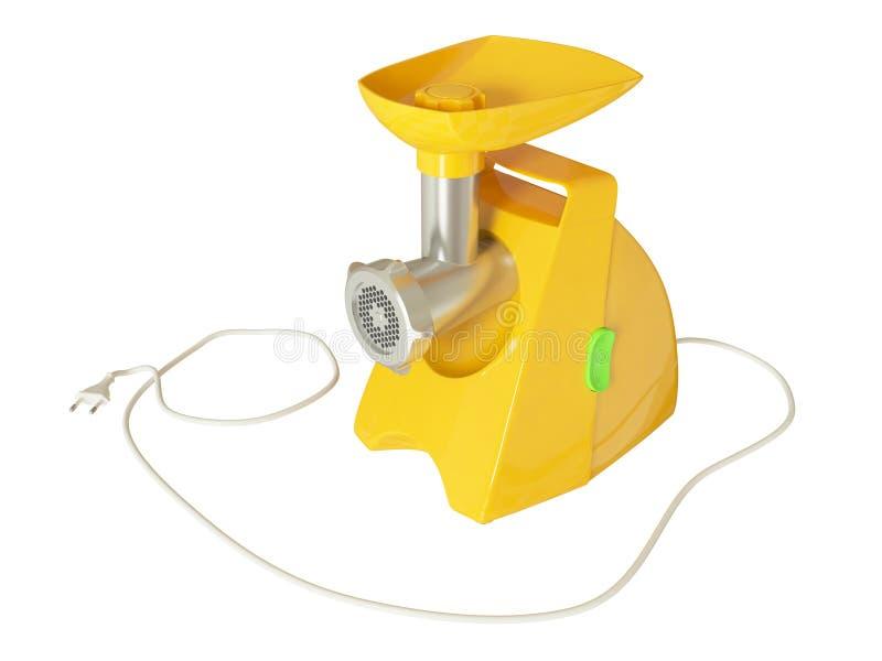 Nowożytny elektryczny maszynka do mięsa ilustracji