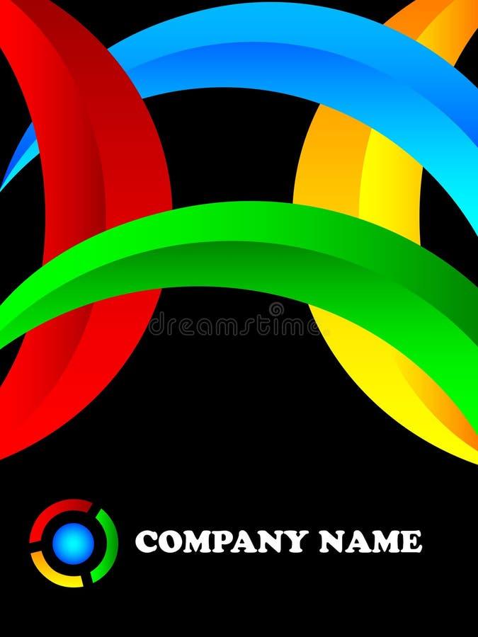 nowożytny firma logo ilustracji