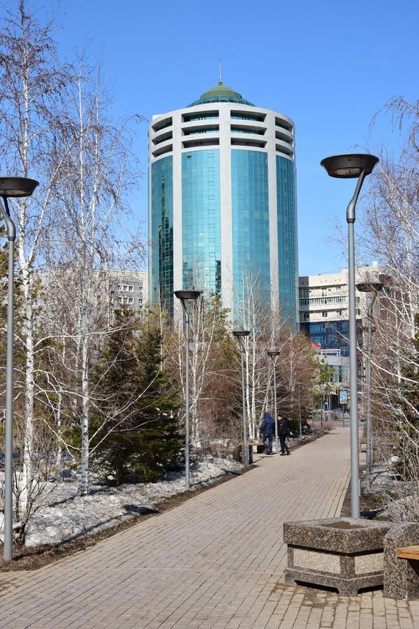 Nowożytny hotel nazwany DYPLOMATA w Astana zdjęcie stock