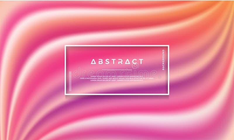 Nowożytny kolorowy abstrakcjonistyczny tło jest stosowny dla cyfrowego tła, tapety i inny, abstrakt fala, przepływ, modna tekstur ilustracja wektor