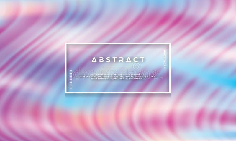 Nowożytny kolorowy abstrakcjonistyczny tło jest stosowny dla cyfrowego tła, tapety i inny, abstrakt fala, przepływ, modna tekstur royalty ilustracja