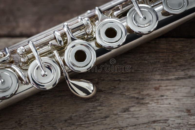 Nowożytny koncerta flet zdjęcia stock