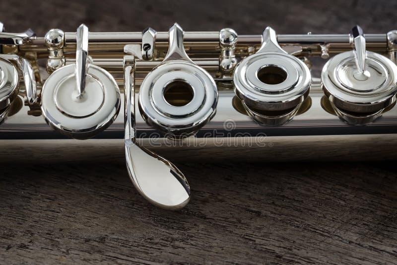 Nowożytny koncerta flet zdjęcie stock