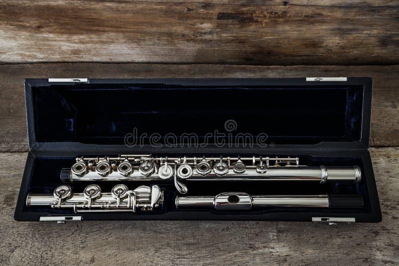 Nowożytny koncerta flet obrazy stock