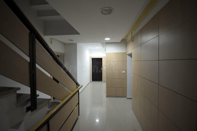 nowożytny korytarza korytarz obraz royalty free