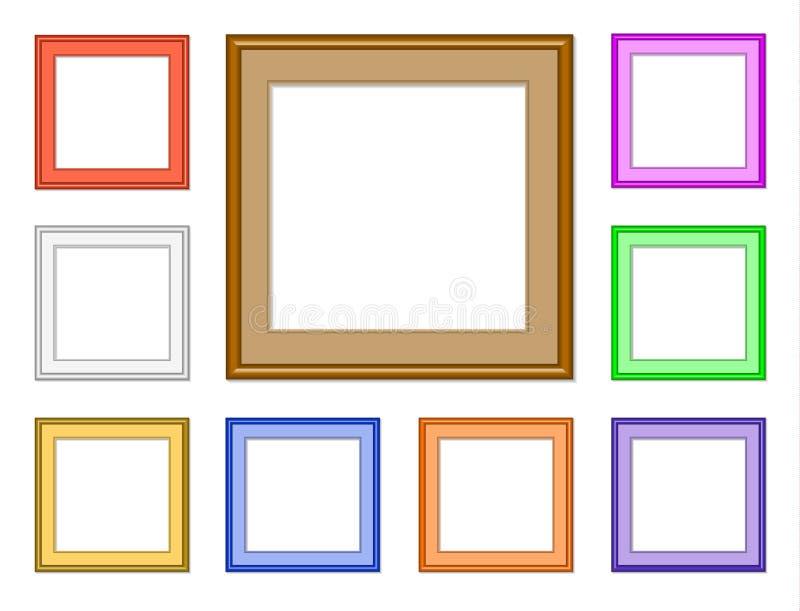 Nowożytny kwadrat ilustracja wektor