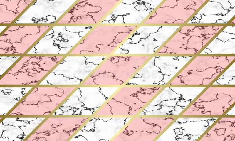 Nowożytny marmurowy tekstury tła szablon obrazy royalty free
