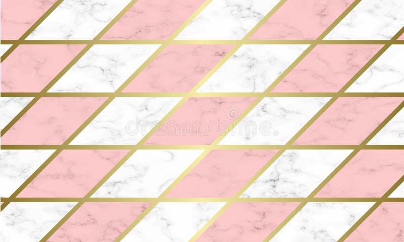 Nowożytny marmurowy tekstury tła szablon zdjęcia royalty free