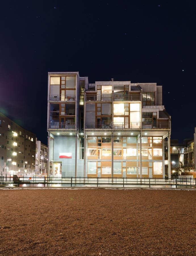 Mieszkanie - Abstrakcjonistyczny projekt zdjęcie royalty free