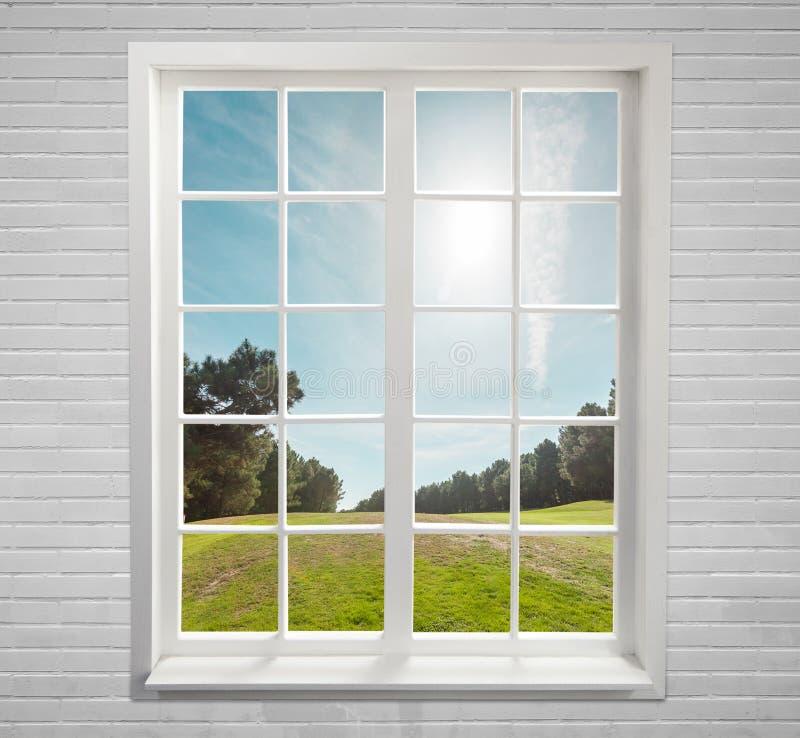 Nowożytny mieszkaniowy okno zdjęcia royalty free