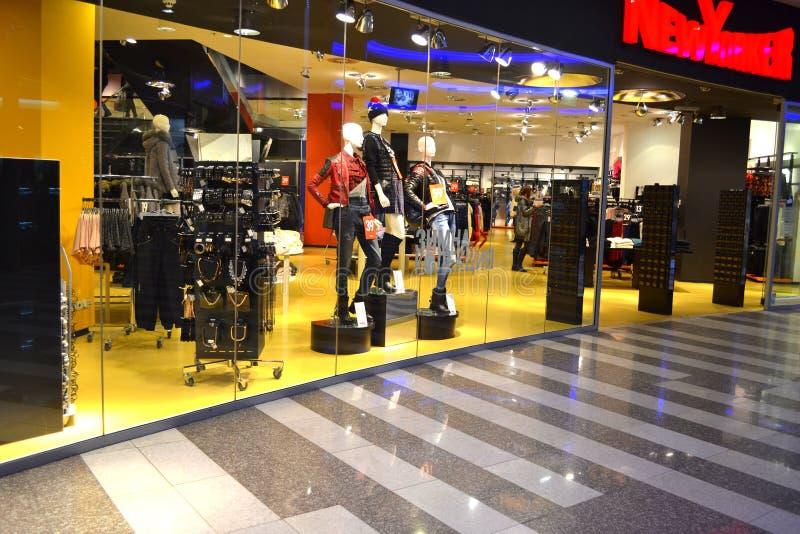 nowożytny mody sklep detaliczny zdjęcie royalty free