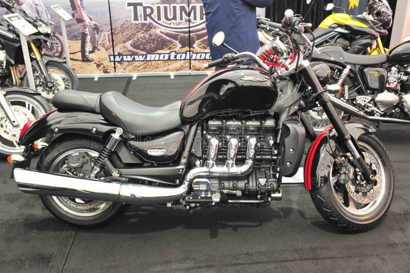 Triumfu motocykl zdjęcia royalty free