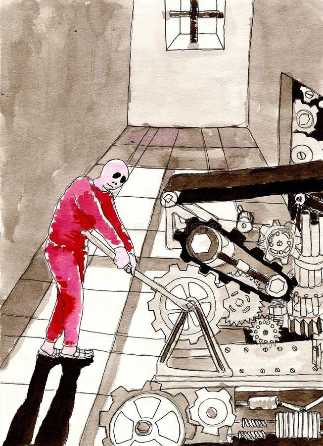 nowożytny niewolnictwo ilustracji
