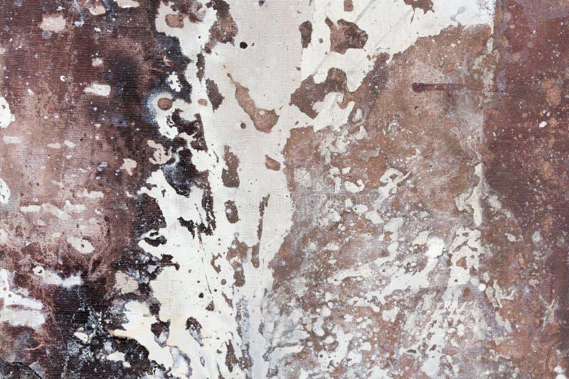 Nowożytny obrazu olejnego abstrakt obrazy stock