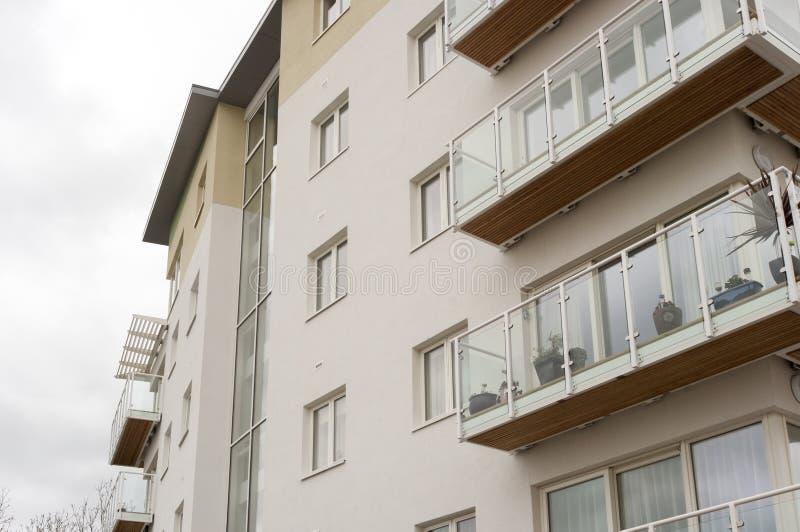 Nowożytny ogólnospołeczny budynek mieszkalny, UK fotografia stock