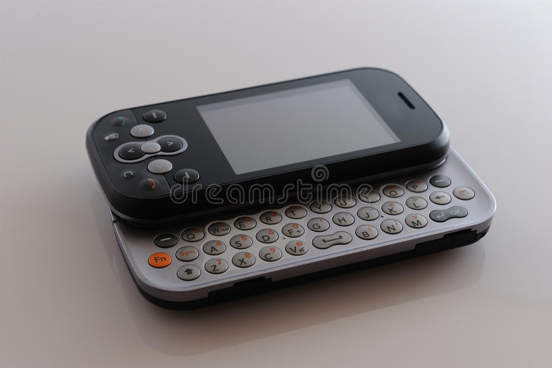 nowożytny otwiera telefon zdjęcie royalty free