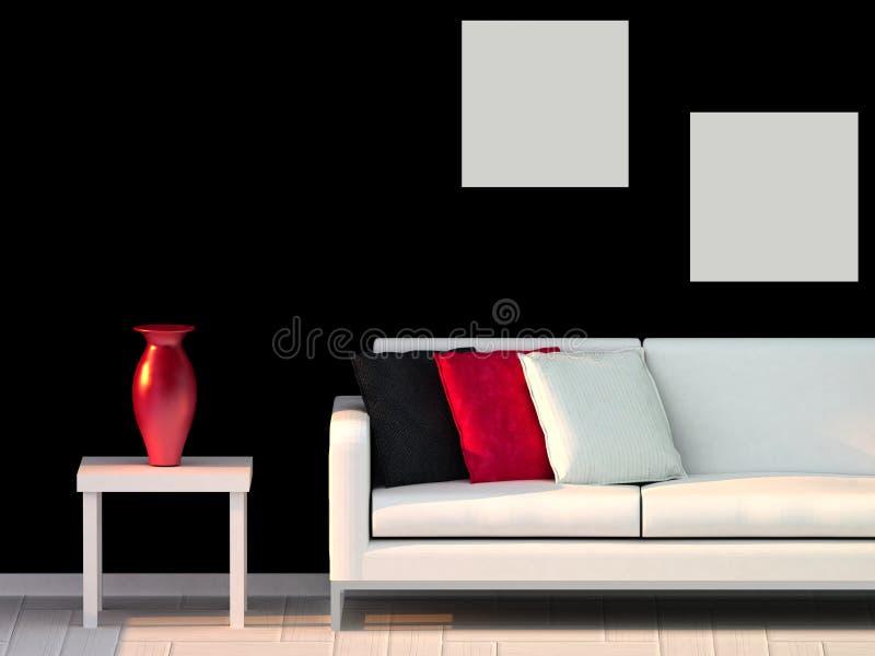 nowożytny pokój ilustracja wektor