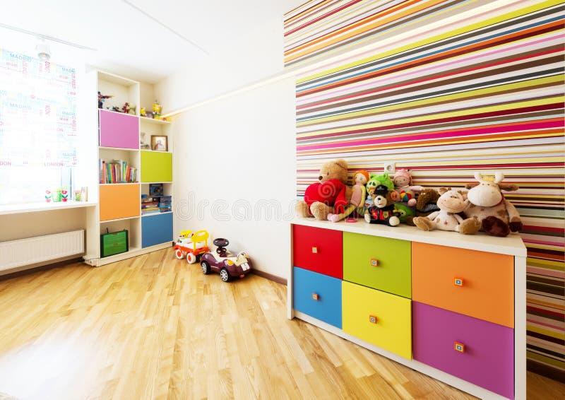 Nowożytny pokój dla dziecka fotografia stock