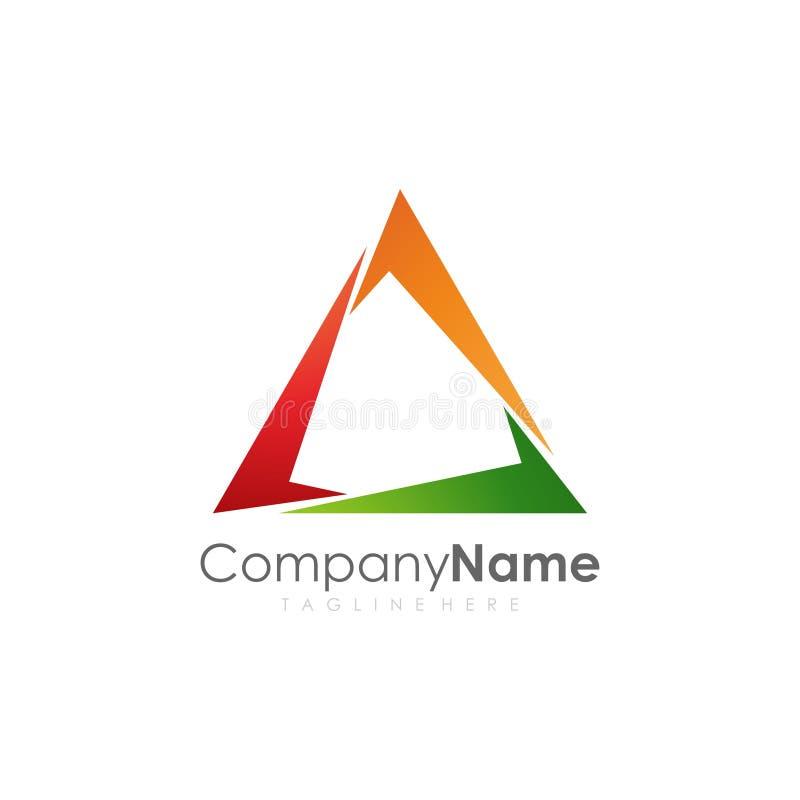 nowożytny projekta logo obrazy stock