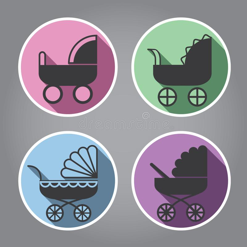 nowożytny projekta logo zdjęcia stock