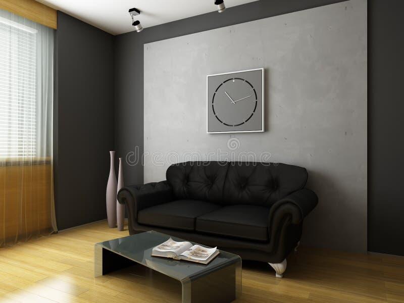 nowożytny projekta wnętrze zdjęcie stock