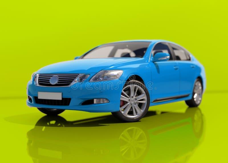 Nowożytny Rodzajowy sedanu samochód zdjęcie royalty free