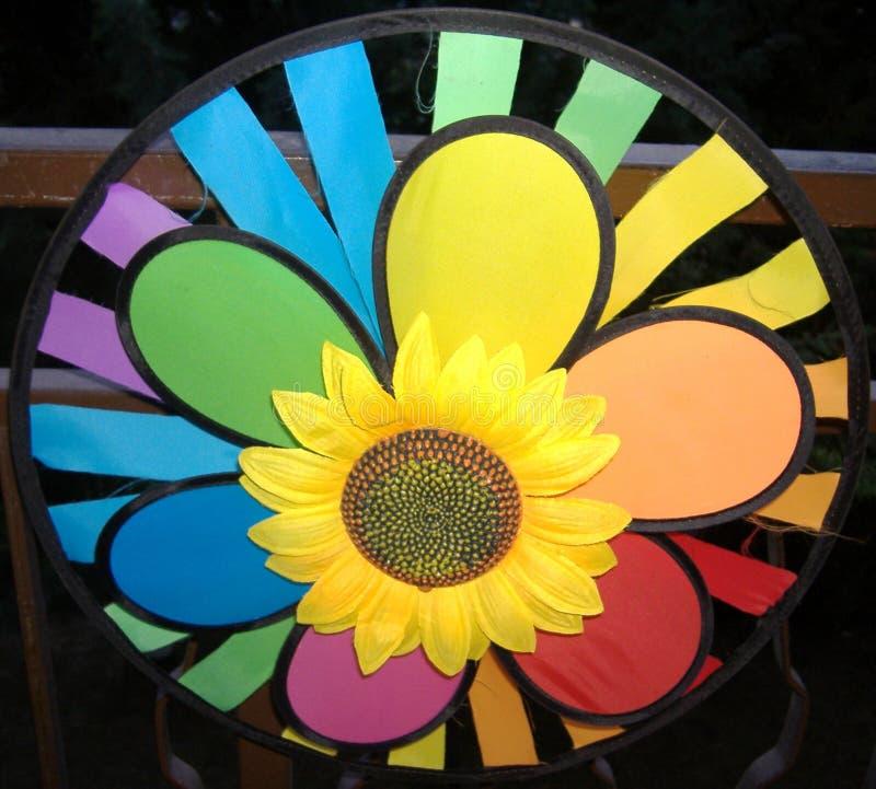 nowożytny słonecznik zdjęcia stock