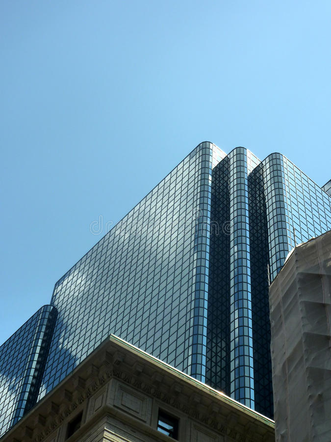 Nowożytny skyrise budynek w Boston Massachusetts fotografia royalty free