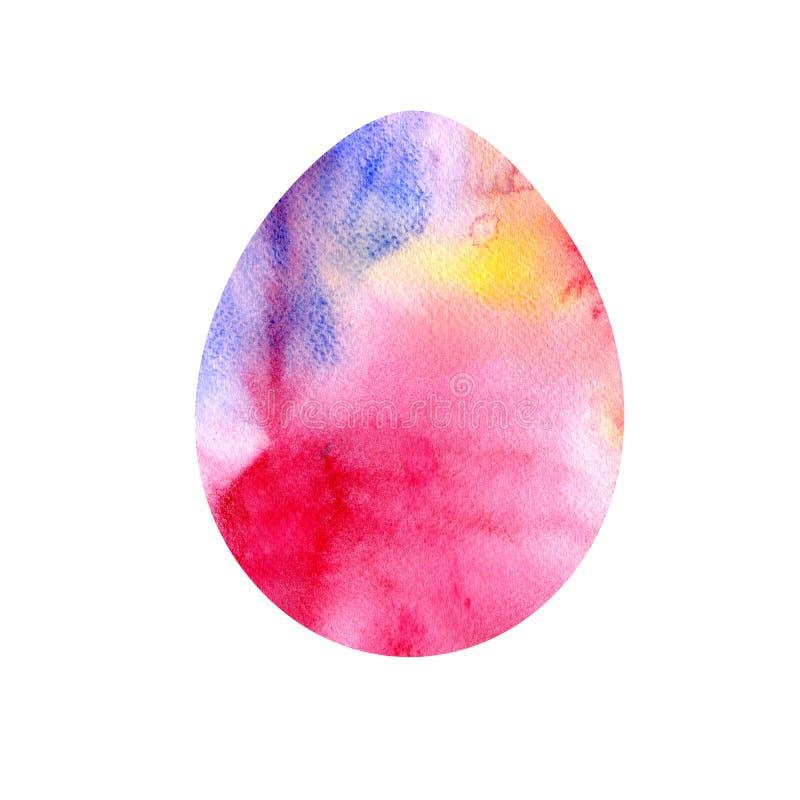 Nowożytny Szczęśliwy Wielkanocny szablon dla kartka z pozdrowieniami, zaproszenia projekta z lub bryzga ilustracja wektor