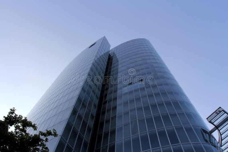Nowożytny szklany budynek zdjęcia royalty free