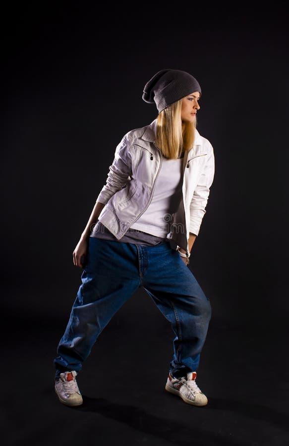 nowożytny tana hip hop obrazy stock