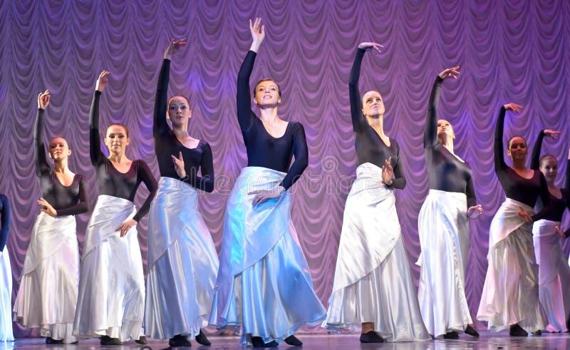 nowożytny tana występ zdjęcia royalty free