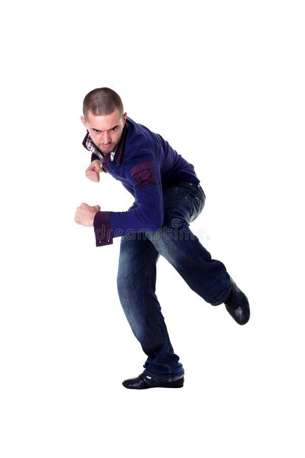nowożytny tancerza chłodno mężczyzna zdjęcia stock