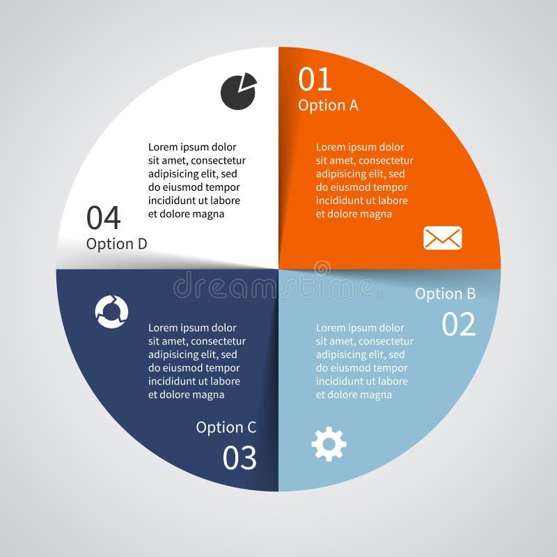 Nowożytny wektorowy szablon dla twój biznesowego projekta ilustracja wektor